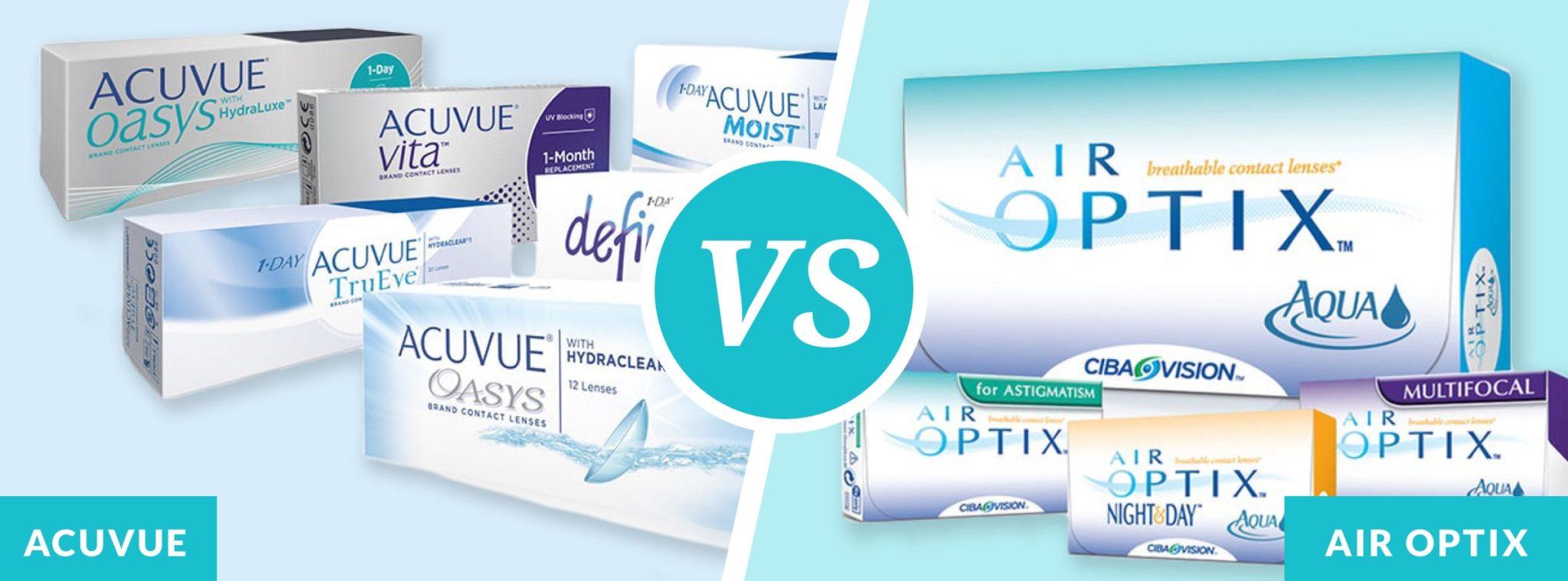 air optix vs acuvue contacts insider envy