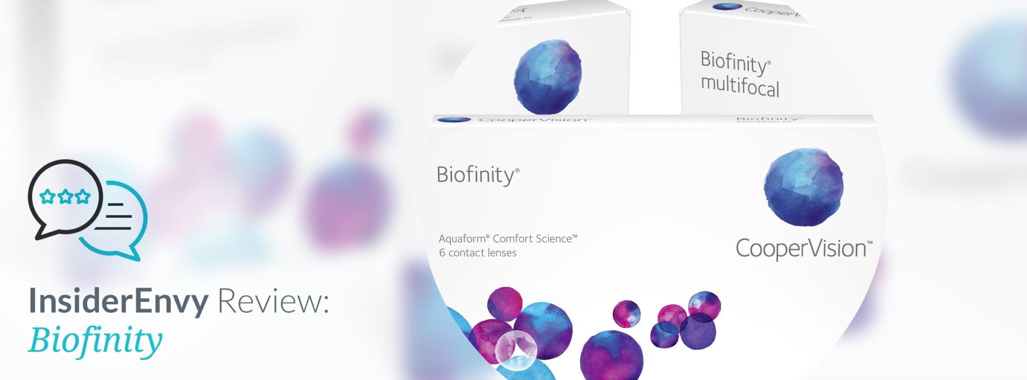 einzigartiges Design kauf verkauf sale Biofinity Contacts Review | Insider Envy